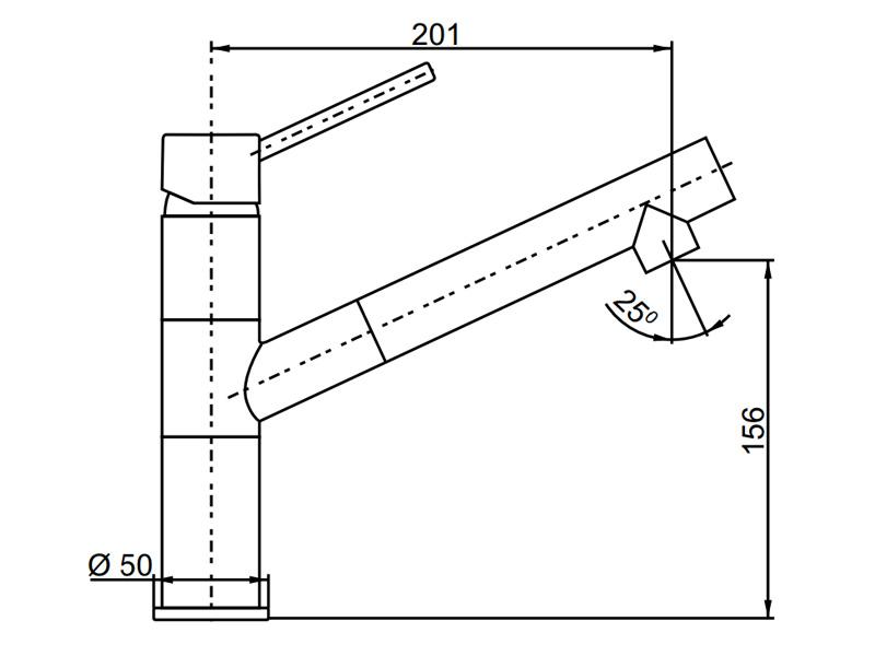 Vòi rửa chén Hafele HF-GM411 569.15.411