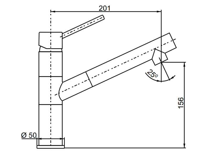 Vòi rửa chén Hafele màu đen HF-GC311 569.15.311
